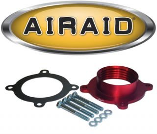 Airaid 310 618 Poweraid Throttle Body Spacer 07 12 Dodge RAM Dakota Nitro 07