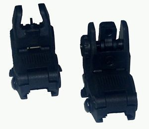 Magpul MBUS PTS Complete Backup Sight Set Gen II Both Front Rear Black