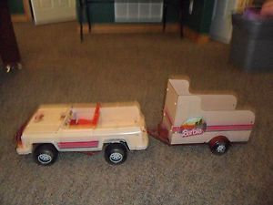 1973 Vintage Barbie Truck and Horse Trailer
