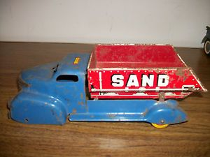 Marx Sand Gravel Dump Truck for Parts Restoration
