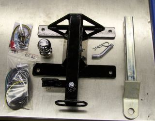 2009 2010 Harley Davidson Triglide Trike Tow Hitch w Wiring Harnesses