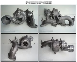 Turbocharger VW Golf Jetta Touran Seat Altea Leon Toledo 2 0 TDI 103 KW BKD