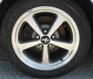 "01 02 03 04 Ford Mustang Mach 1 Wheels 17'"" Tires Goodyear Eagle ZR45 245 45 17"