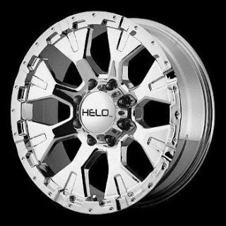 20 inch Chrome Wheels Rims Chevy GMC Dodge 2500 3500 8 Lug Trucks Hummer H2 Helo