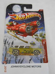 Hot Wheels Holiday Hot Rods Christmas 2012 Chevrolet 1955 Custom Classic Nomad