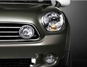 Mini Cooper Countryman Chrome Driving Lights Lamps New