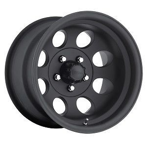 15x10 Pacer Alloy 164 Rims Jeep Wrangler Cherokee Ranger Matte Black Wheels Rims