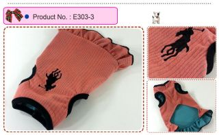 Dog Cat Clothes Skirts Polo Embroidered Dresses E303
