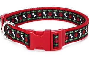 "Douglas Paquette Nylon Dog Collars Leads Harnesses ""Hollywoof"" Design"