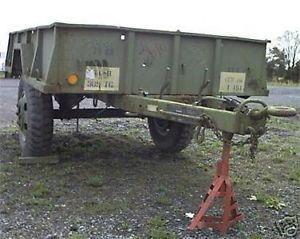 1964 1 1 2 Ton Used Cargo Military Trailer