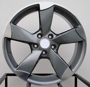 "18"" RS3 Wheels Rims Fit Audi A6 C4 C5 C6 C7"