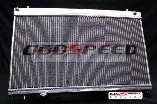 GSP Godspeed 03 05 Dodge Neon SRT 4 SRT4 Aluminum 2 Row Racing Radiator Turbo