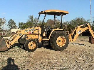 2005 John Deere 110 Loader Backhoe Financing Available