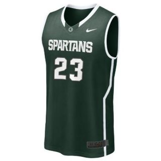 Michigan State Spartans Nike 23 Green Kid's Pre School Basketball Jersey