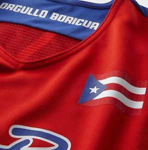 New Adult XL Nike Puerto Rico Replica Basketball Jersey J J Jose Barea 5 $75