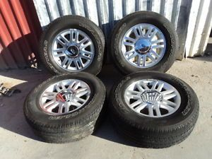 "Factory 18"" Ford F150 Lariat Wheels and Goodyear SR A 275 65R18 Tires"