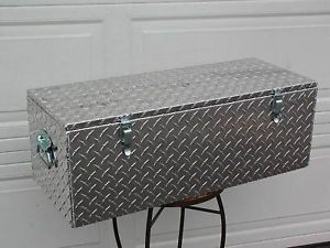 "30"" Aluminum Truck Boat Trailer ATV Tongue Tool Box"
