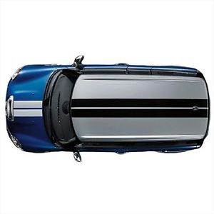 Mini Cooper Clubman 08UP Silver Sport Stripes Hood Boot