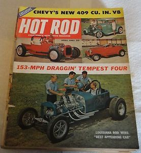 Hot Rod Magazine April 1961