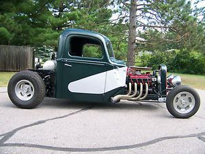 1946 Ford Rat Rod Traditional Rod Street Rod Hot Rod Bobbed Pickup Truck