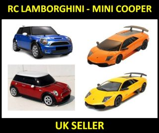 RC Mini Cooper Remote Control Kids Car Lamborghini Murcielago R C Licensed