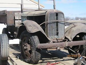 1932 33 Ford Truck Model B Open Cab Dump Truck Roadster Pick Up Rat Rod Hot Rod