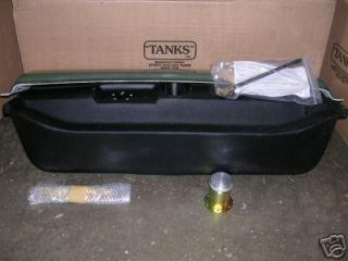 Tanks 1932 Ford Car Polyethylene Poly Gas Fuel Tank w Cover Deep 14 Gallon