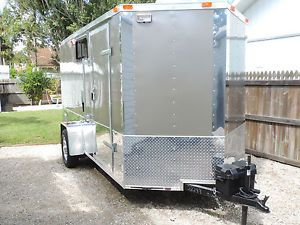 2014 Toy Hauler Enclosed Trailer Travel Trailer Harley Davidson RV Camper
