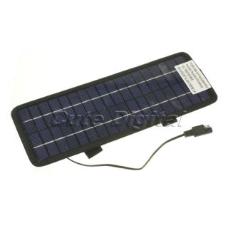 Auto Cars Boats Motorcycle 12V 4 5W Solar Powered Panel Battery Charger Trickle