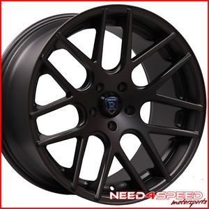 "20"" Mercedes W211 E320 E350 E500 E550 E55 Rohana RC26 Concave Black Wheels Rims"