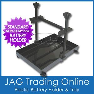 Standard Battery Stabiliser Tie Hold Down Tray Boat Marine Car Caravan 4x4 RV