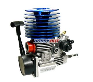 SH Engines Model Blue 28 Nitro Engine 4 57cc RC Car Buggy Truck Truggy EG639