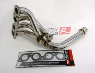 OBX Exhaust Header 98 99 00 01 Toyota Corolla 1 8L All Models ve CE Le and S