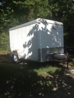 6x10 Enclosed Trailer Motorcycle Trailer Bike Trailer