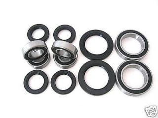 All Wheel and Axle Bearings Seals Kit Yamaha Warrior 350 1999 2000 2001 2002