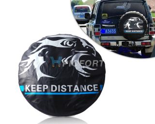 "New Universal 31"" 32"" Spare Wheel Tire Tyre Soft Cover Big Eagle"