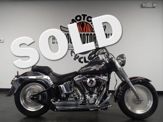 2005 Harley Fatboy Softail FLSTF Fat Boy Loaded Cheap and Ready We Finance SHIP