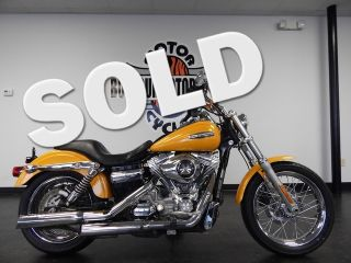 2008 Harley Dyna Super Glide Custom FXDC Superglide Cheap Clean Ready We Finance