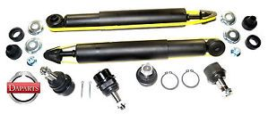 1999 Dodge RAM 2500 4WD Shock Absorber Ball Joint Suspension Kit Replacement