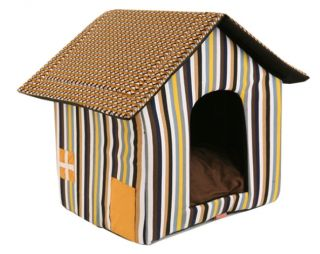 Indoor Dog House Pet House Tent Puppy Carrier Bed E