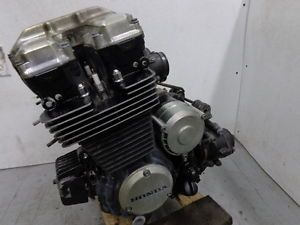 1984 Honda CB650 Nighthawk CB 650 Motor Engine Runs Strong