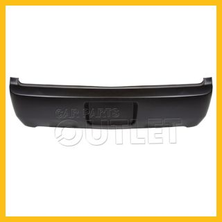 05 06 09 Ford Mustang Rear Bumper Facial Cover Primed Black Fascia Plastic Wo GT
