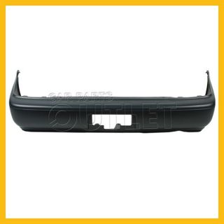 93 97 Toyota Corolla Rear Bumper Cover Assembly New Replacement Primed Plastic