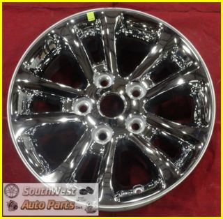 "2013 13 Dodge RAM 1500 Pickup 17"" Chrome Clad Wheel Factory Rim Used 2452"