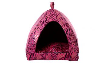 Soft Warm Indoor Pet Dog Cat House Tent Collapsible L XL for Small Dogs