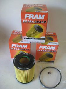 Dodge Jeep Mercedes Fram CH10323 Oil Filter Lot 3 Three Fits OE 5175571AA