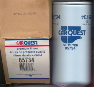 CarQuest 85734 Extra Capacity Oil Filter WIX 51734 Ford Trucks Vans
