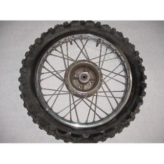 94 Yamaha RT100 RT 100 Rear Wheel Rim Tire