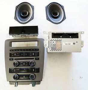 2010 2013 Ford Mustang Radio Bezel Radio and CD