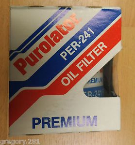Purolator per 241 Fit Fram PH3614 Engine Oil Filter Vintage Dodge Toyota 63 90